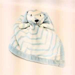 NWOT Blue Puppy Security Blanket Baby Gift NEW
